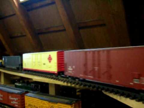 G scale layout. by Jäger (Aristocraft. USA Trains. Bachmann. LGB)