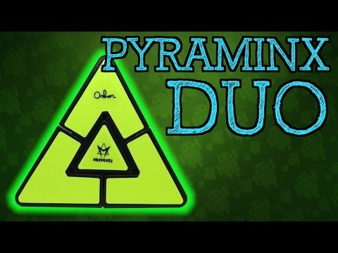 Pyraminx Duo Unboxing