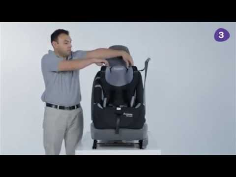 Maxi-Cosi Complete Air Forward Facing Car Seat Installation