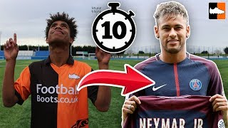 How To Become Neymar In Under 10 Mins! Ultimate Football Lookalike