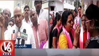 TRS MP Malla Reddy Election Campaign In LB Nagar Constituency | Hyderabad