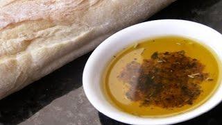Olive oil bread dip recipe easy