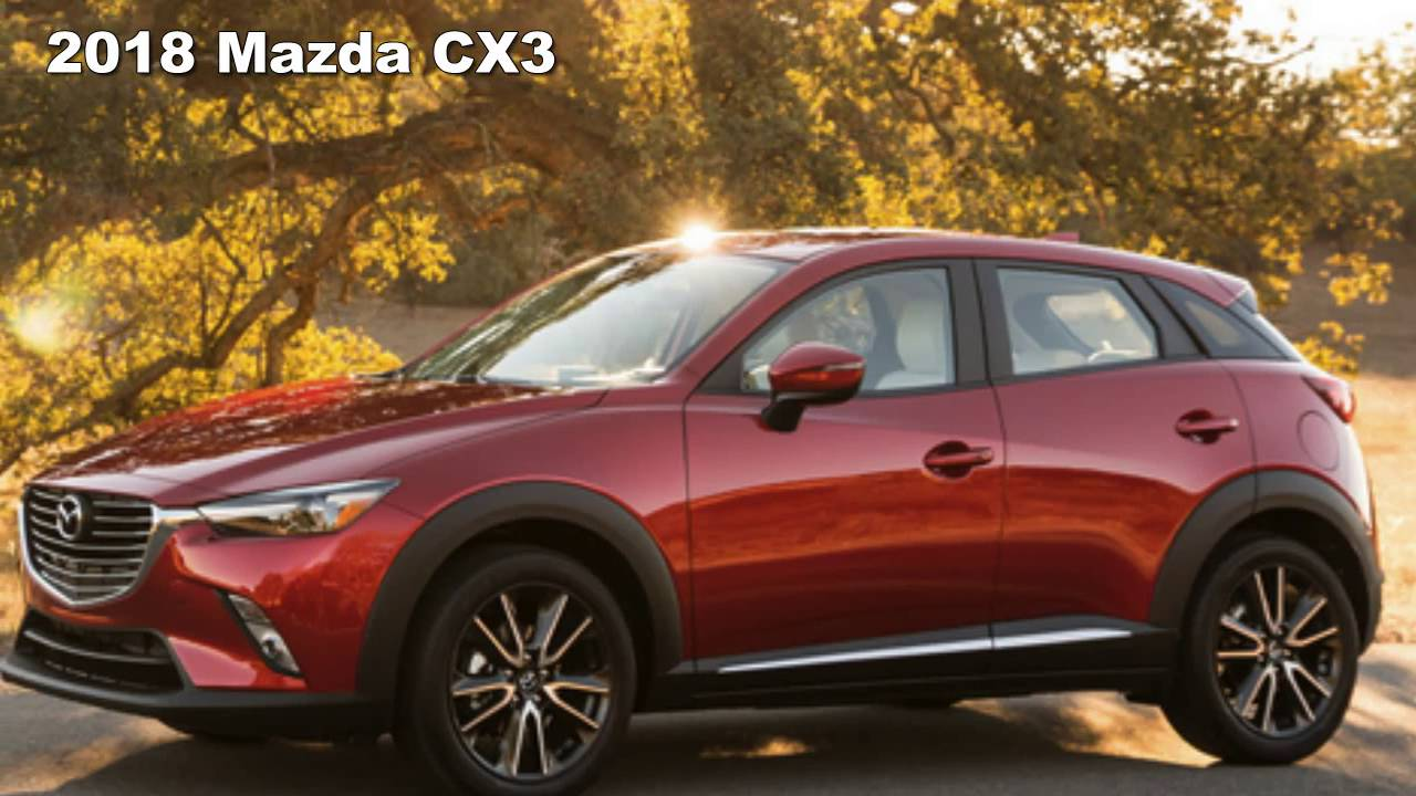 2018 <b>Mazda CX-3</b> Redesign Preview | Changes - Concept - YouTube