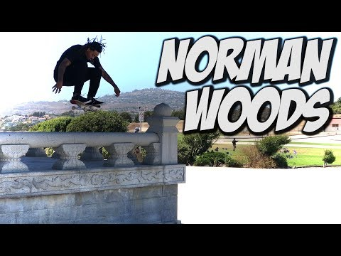 STREET SKATING WITH NORMAN WOODS - A DAY WITH NKA