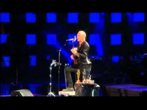 Festival de Viña 2011, Sting, Message in a bottle