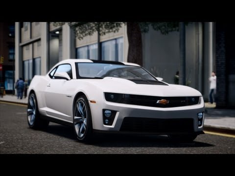 GTA IV San Andreas Beta - 2012 Chevrolet Camaro ZL1