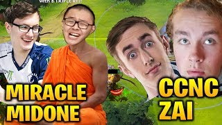 MIRACLE MIDONE vs CCNC ZAI - PUB IS HARDER THAN TI8