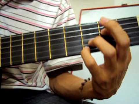 Arpegio Hermosisimo guitarra tutorial Curso lecciones tutorial clases de guitarra  70 Diego Erley