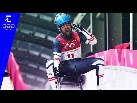Luge | Men's Singles Highlights | Pyeongchang 2018 | Eurosport