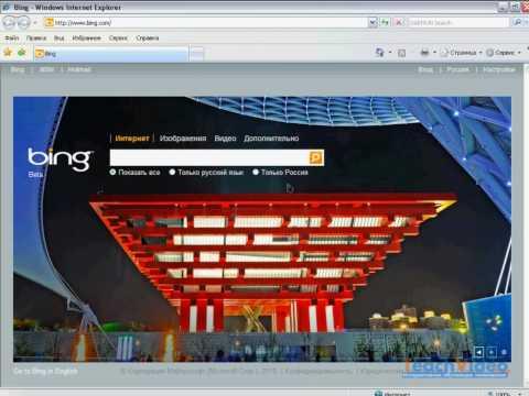 Поисковая система Bing Microsoft