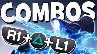 Destiny 2 - ALL SECRET ARCSTRIDER COMBOS !!
