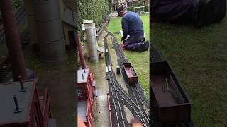 Schottern im Güterbahnhof 10318