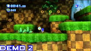 Sonic Generations Classic Demo Comparisons
