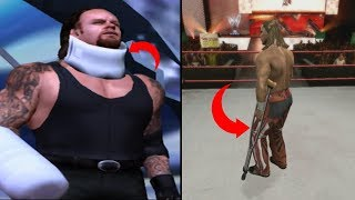 6 Times YOU Could Be Seriously Injured In WWE Games