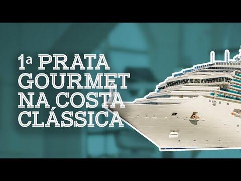 1ª Prata Gourmet na Costa Classica - Costa Cruzeiros