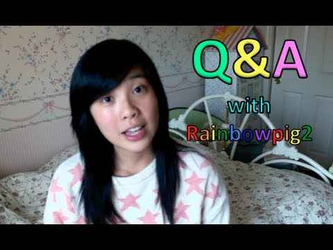 Q&A with Rainbowpig2!
