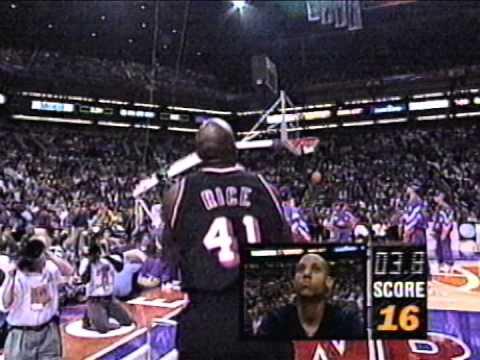 Glen Rice Wins 1995 NBA 3pt. Shootout