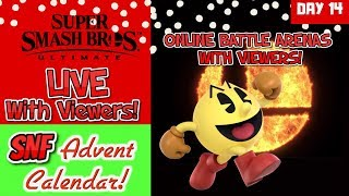 DAY 14 Super Smash Bros Ultimate Online with Viewers Battle Arenas Nintendo Switch Advent Calendar