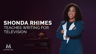 Shonda Rhimes Teaches Writing For Television Official Trailer Masterclass