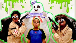 Bad Baby MARSHMALLOW MAN vs Ghostbusters Shiloh and Shasha - Onyx Kids