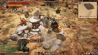 Black Desert 58Lv Striker Naga Grind