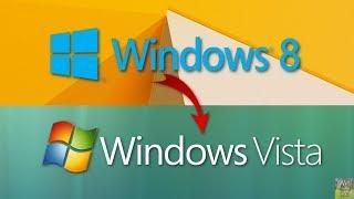 [Tutorial] How to make Windows 8.1 look like Windows Vista - 2019 Edition