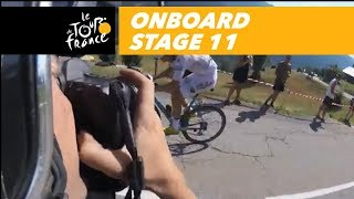 Onboard camera - Stage 11 - Tour de France 2018