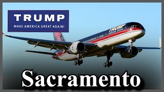 LIVE Donald Trump Sacramento California Rally Sacramento Jet Center FULL SPEECH HD STREAM (6-1-16)