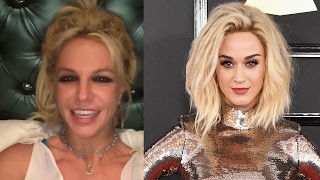 Britney Spears RESPONDS To Katy Perry's Mental Health Joke From The 2017 Grammys Red Carpet
