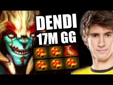 DENDI [Huskar] 17M GG Unstoppable 5x Bracer Build Dota 2 Full Pro Gameplay