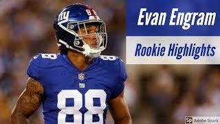 Evan Engram Complete Rookie Highlights 2017