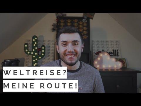 364 Tage Weltreise, wohin würdest DU reisen? Meine Route für 2019!