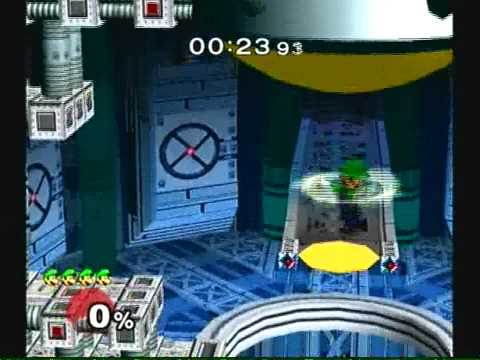 Super Smash Bros. Melee: Adventure Mode with Luigi (Hard)