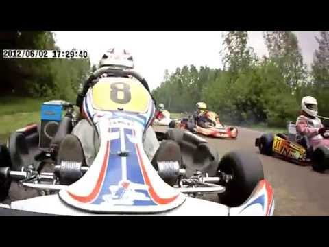 Massive GO Kart Crash [HD]