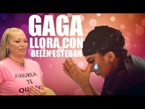 Lady Gaga llora con Belén Esteban...