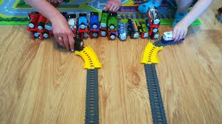 Tomek i przyjaciele Wielki wyścig. Thomas and friends The Great Race Who will be the first one
