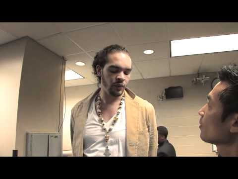 TK interviewed JOAKIM NOAH - CHICAGO BULLS (JAK-TV)