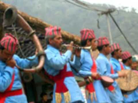 Nepali Movie Song .hami Teen Bhai video