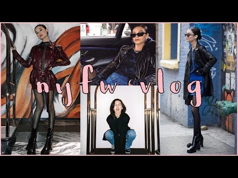NEW YORK FASHION WEEK FW 2018 VLOG || Amanda Steele
