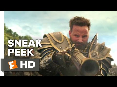 VIDEO: WARCRAFT OFFICIAL SNEAK PEEK #1 (2016) - DOMINIC COOPER, PAULA PATTON