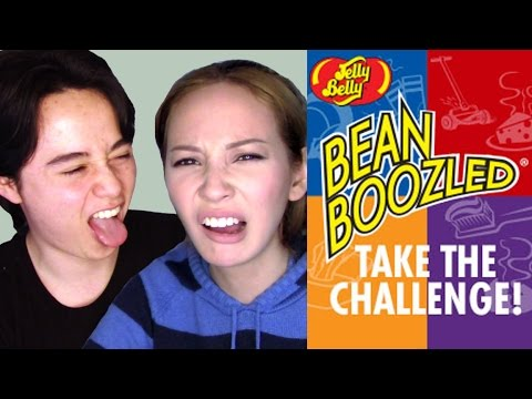 Bean Boozled Challenge!   We Almost Puked