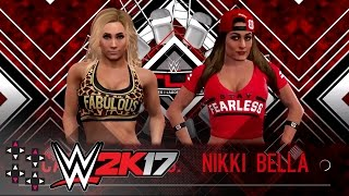WWE TLC 2016: Carmella vs. Nikki Bella - No Disqualification Match — WWE 2K17 Match Sims