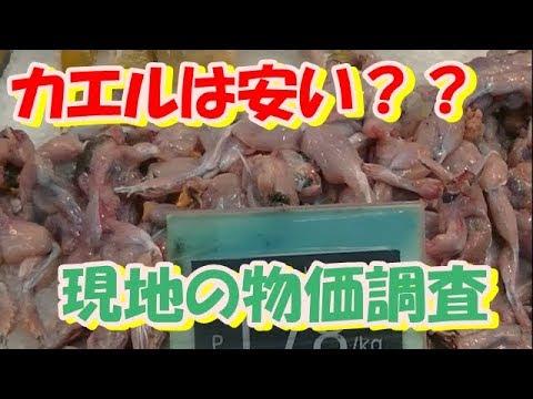 フィリピンのスーパーで食料品を買ったら、日本の半額くらい