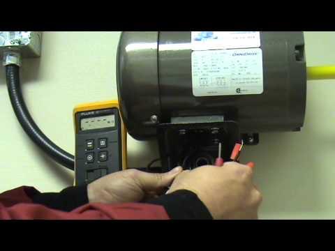 Lectricit v rification d 39 un moteur triphas sans for Consommation machine a laver eau