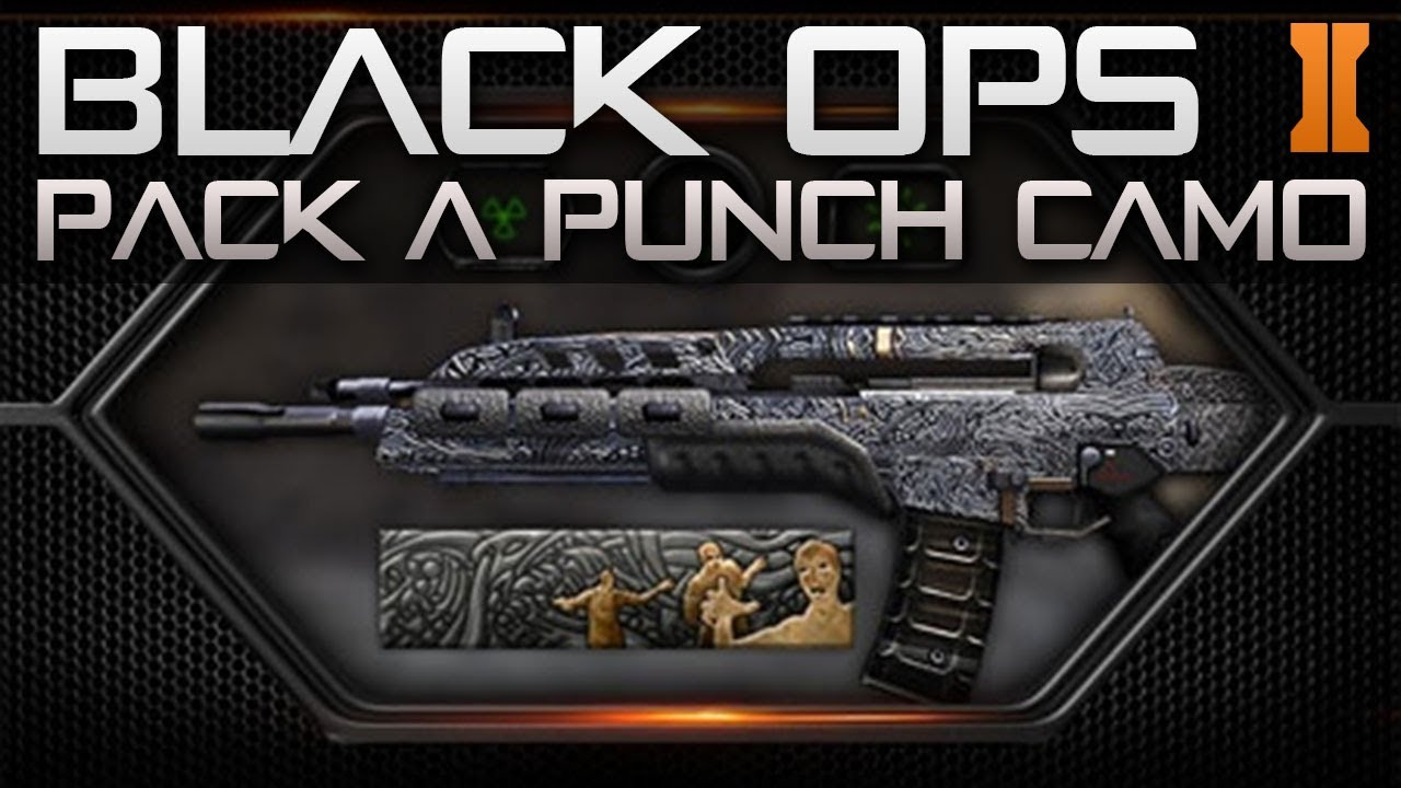 Pack a Punch Camo Black Ops 2 Black Ops 2 Pack a Punch Camo