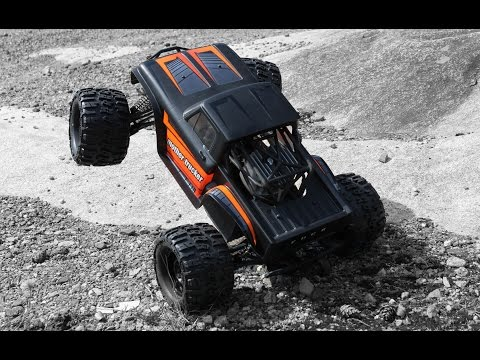 MONSTER TRUCK WHEELIE BAR - HPI Savage Octane Upgrade