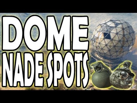 MW3 Tips and Tricks - Dome Grenade Spots (Modern Warfare 3 Nade Spots)