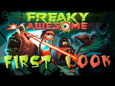 (Replay) FIRST LOOK! Freaky Awesome - BRAND NEW GAME! Live stream