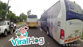Stopping Traffic to Have a Chat || ViralHog