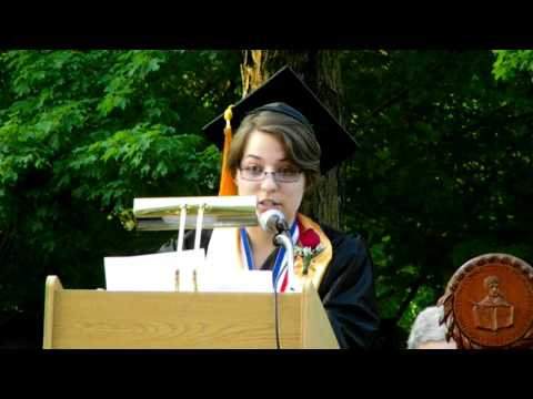Tracys Commencement Speech at NCCC graduation 2011